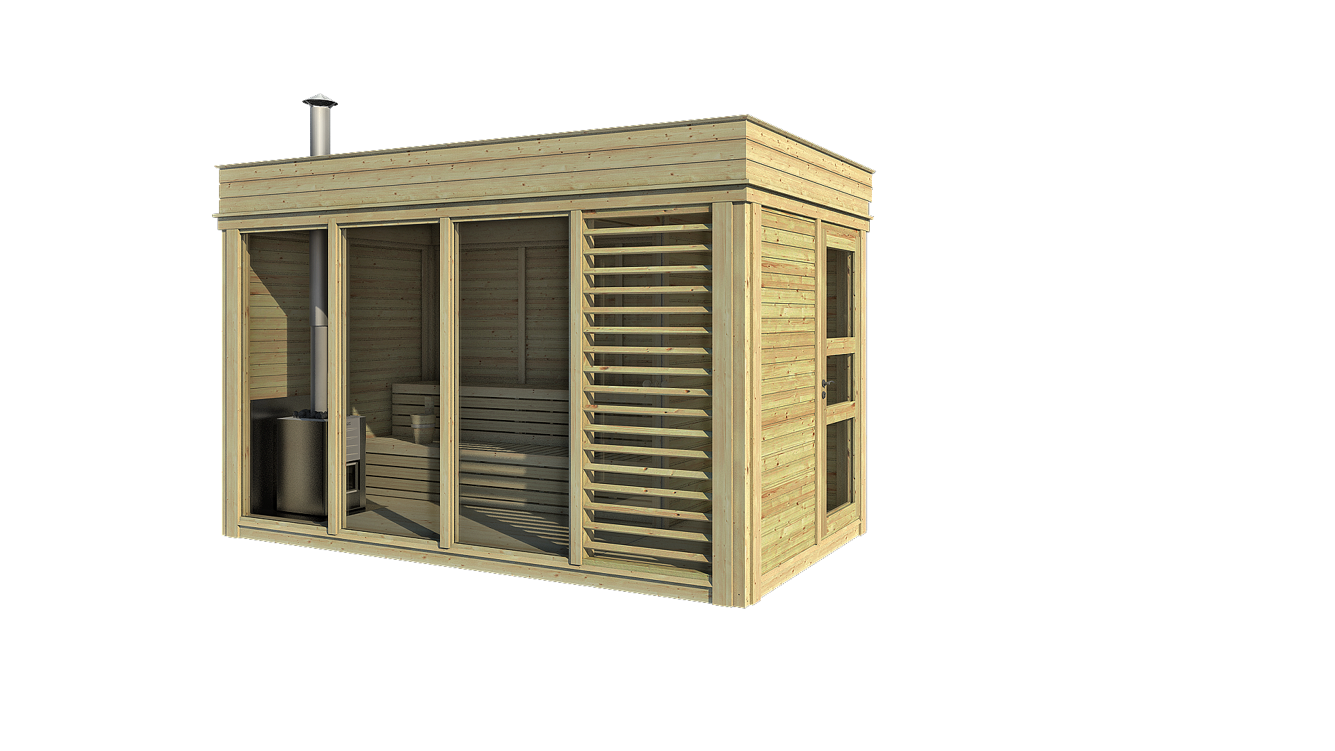 gartensauna sauna cube 4 x 2 m breite x tiefe aus fichtenholz garten cube kube gartenhaus. Black Bedroom Furniture Sets. Home Design Ideas